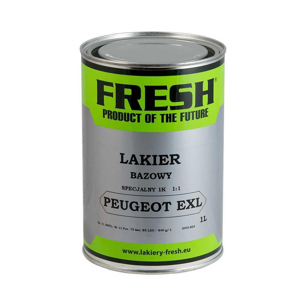 Lakier Bazowy Peugeot EXL